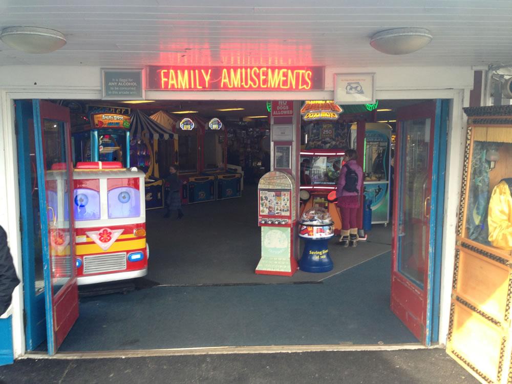 Llandudno Pier Arcades...