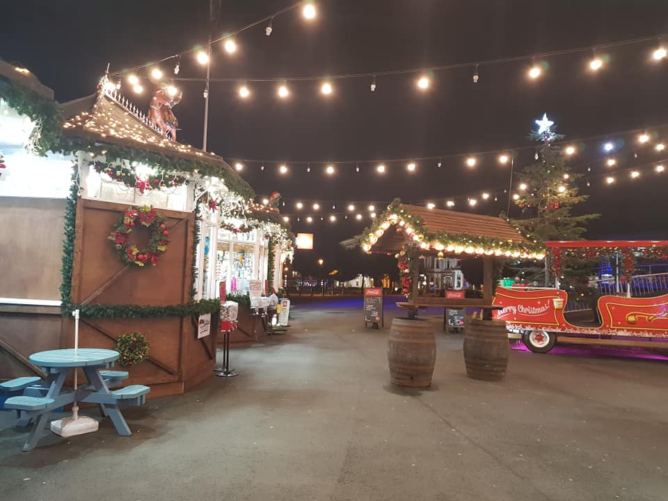 Llandudno Pier Christmas Lights